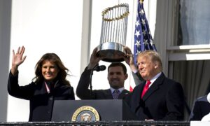 Washington Nationals Celebrate Their Victory at the White House