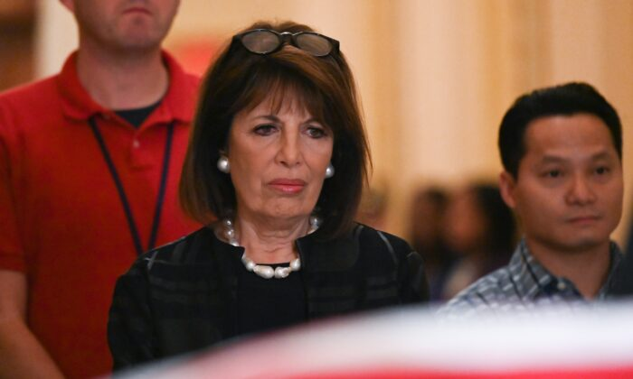 Rep Jackie Speier (D-Calif.) in Washington on Oct. 24, 2019. (Erin Scott-Pool/Getty Images)