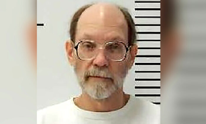 Charles Rhines at the South Dakota State Penitentiary in Sioux Falls. (South Dakota Department of Corrections via AP)