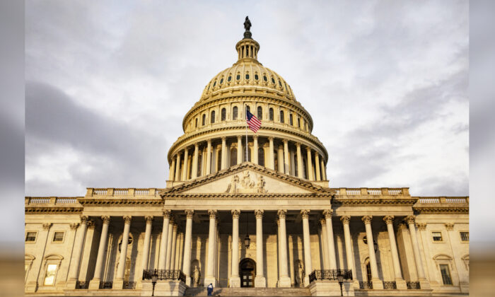 The U.S. Capitol is seen on Oct. 30, 2019 in Washington, DC. (Samuel Corum/Getty Images)