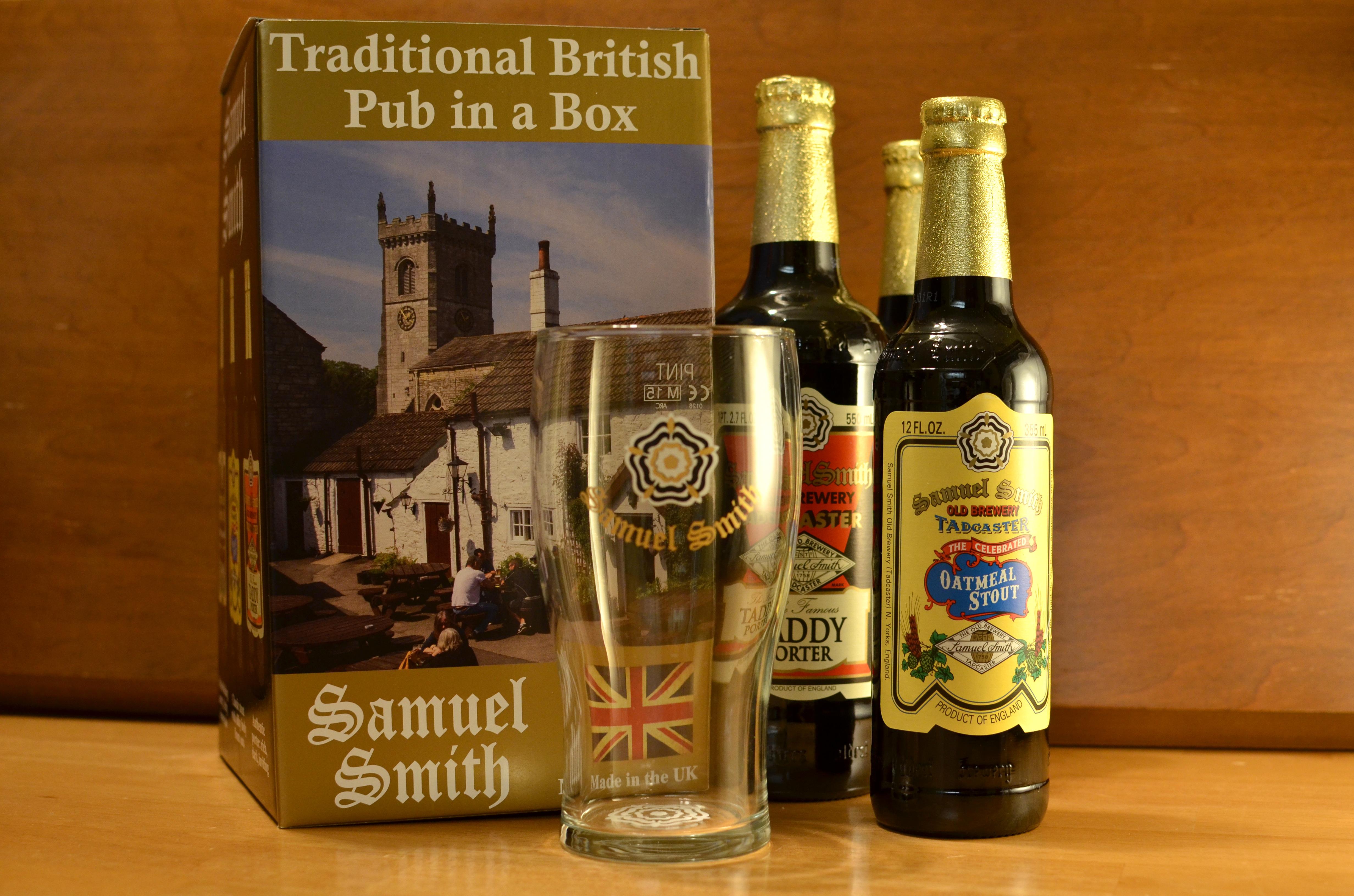 sam smith brewery pub in a box