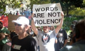 The Danger of Conflating Speech with Violence