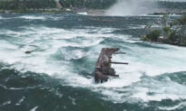 'Iron Scow' Atop Niagara Falls Pushes Towards the Edge After 101 Years
