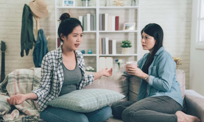 Complaining can sometimes be a way to criticize someone else so that we feel superior. (PR Image Factory/Shutterstock)