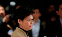 China's Top Official Overseeing Hong Kong Affairs Voices Support for Carrie Lam