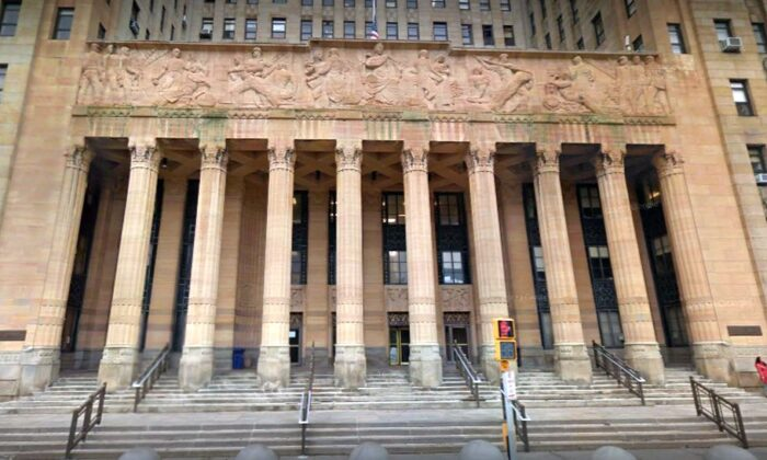 The FBI, IRS, and Housing and Urban Development raided the city hall building of Buffalo, New York, on Wednesday morning. (Google Street View)