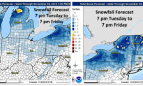 Arctic Blast to Bring 'Major Cold Air' to Midwest, Northeast: Forecasters