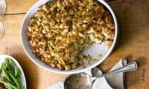 Classic Bread Stuffing With Sage and Thyme