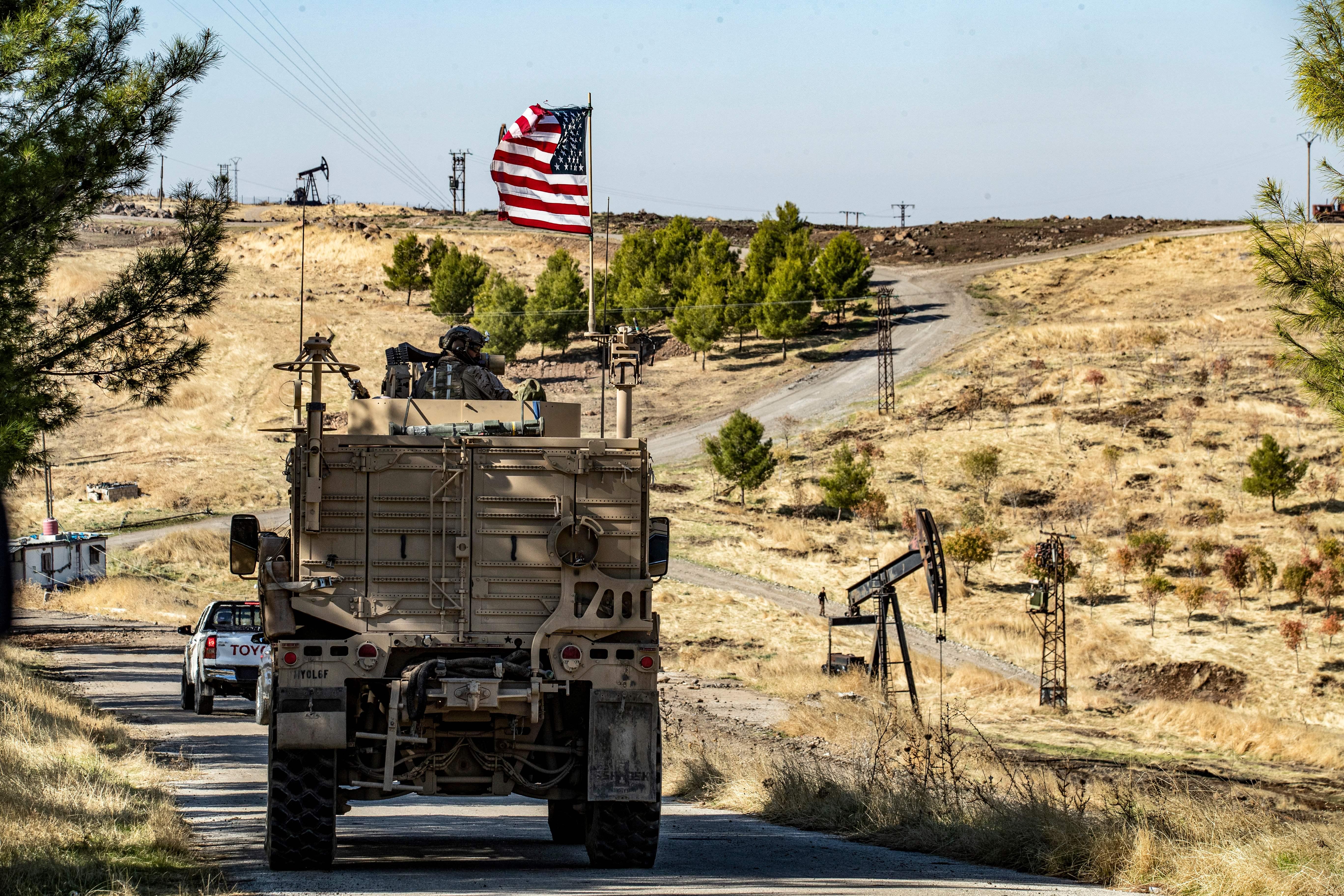 oil fields in syria