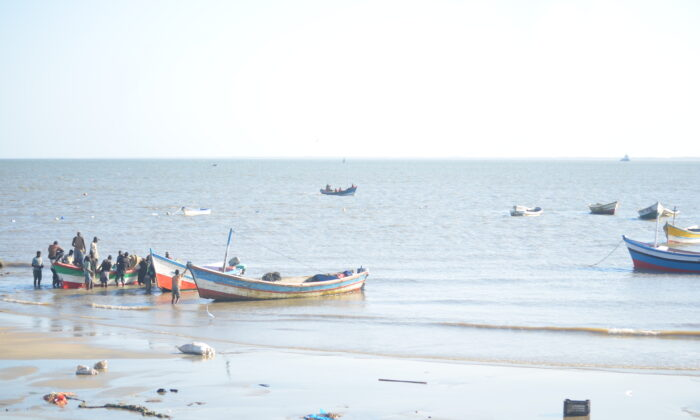 Fishing is one of the major economic activities in Beira, Mozambique.  (File Photo by Andrew Mambondiyani for The Epoch Times)