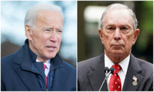 Biden Says He Would Welcome Bloomberg in Democratic Primary