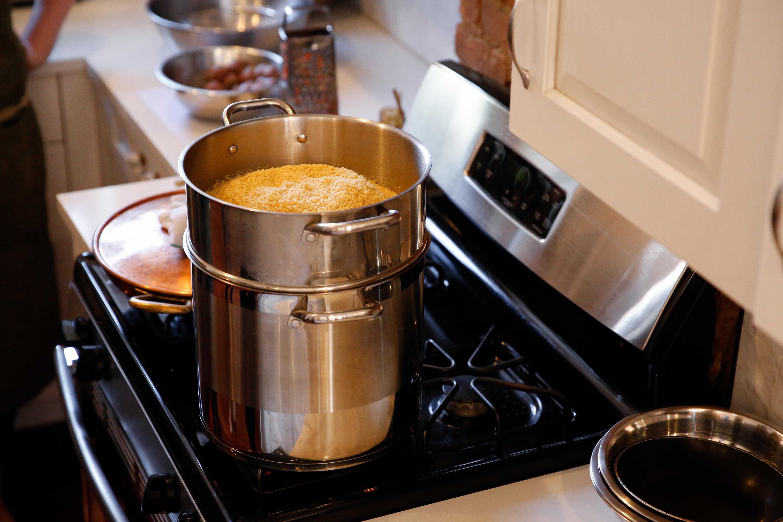 steam couscous