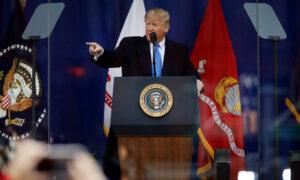 Trump Honors Veterans at Iconic New York Parade