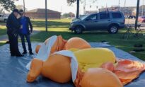 People Raise Thousands on GoFundMe for Man Who Allegedly Stabbed 'Baby Trump' Balloon