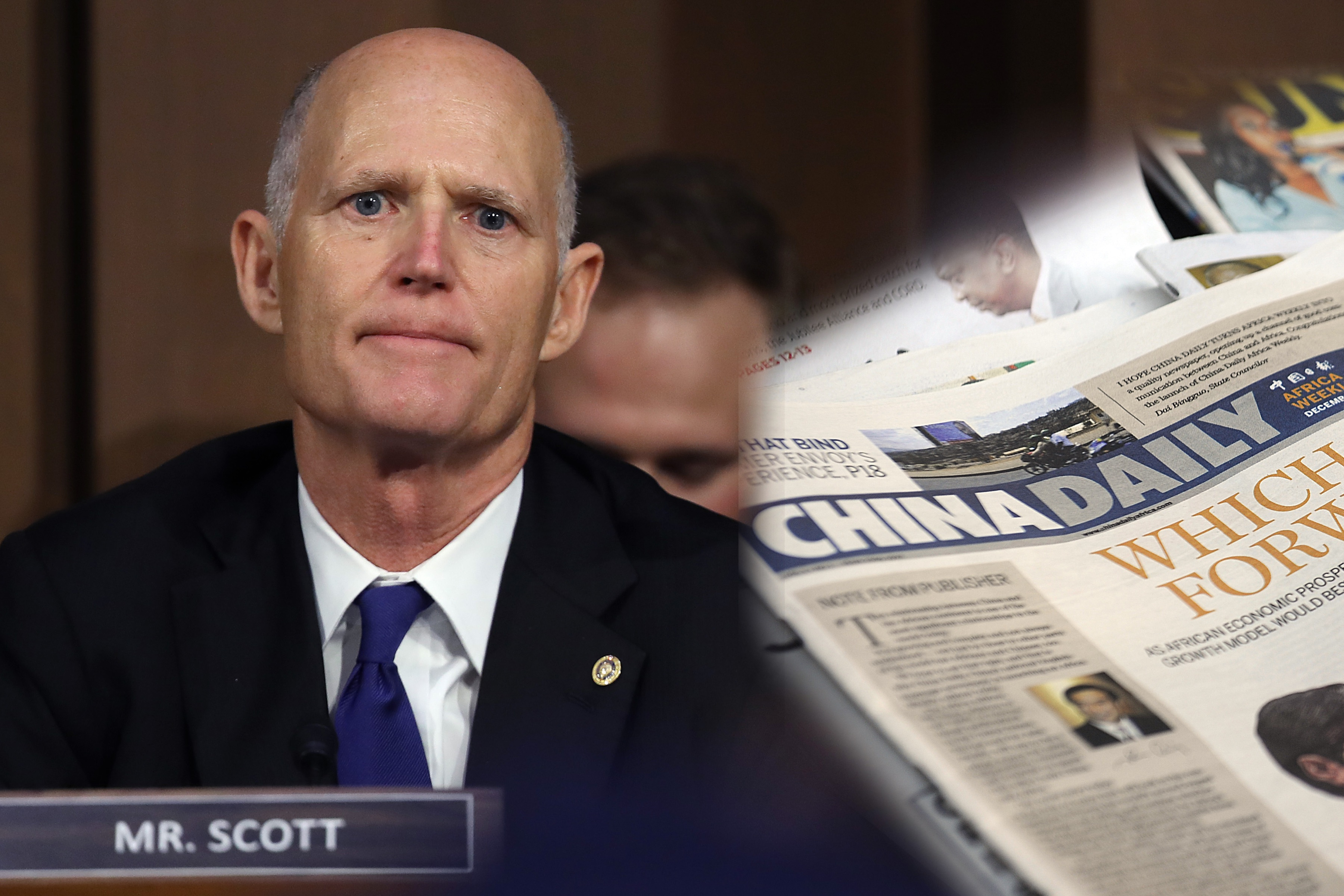 US Newspapers Publish Communist Propaganda at Expense of American Values: Sen. Scott