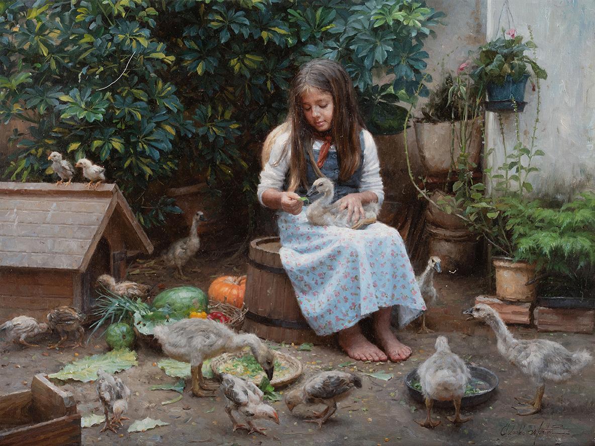 Painter Clodoaldo Martins's Soft Light and Nostalgia - The Epoch Times