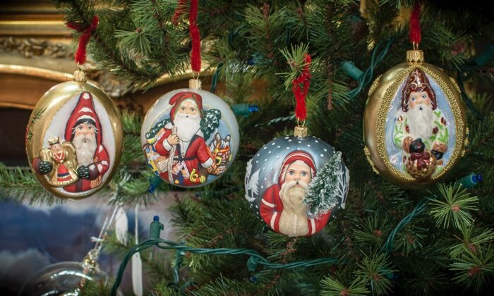 Colorful ornaments. (COURTESY OF VAILLANCOURT FOLK ART)