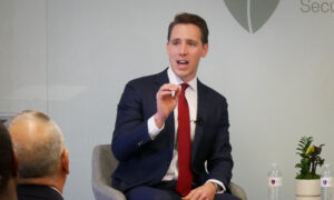 Beijing's Treatment of Hong Kong Displays Its Ambitions in Asia, Hawley Says