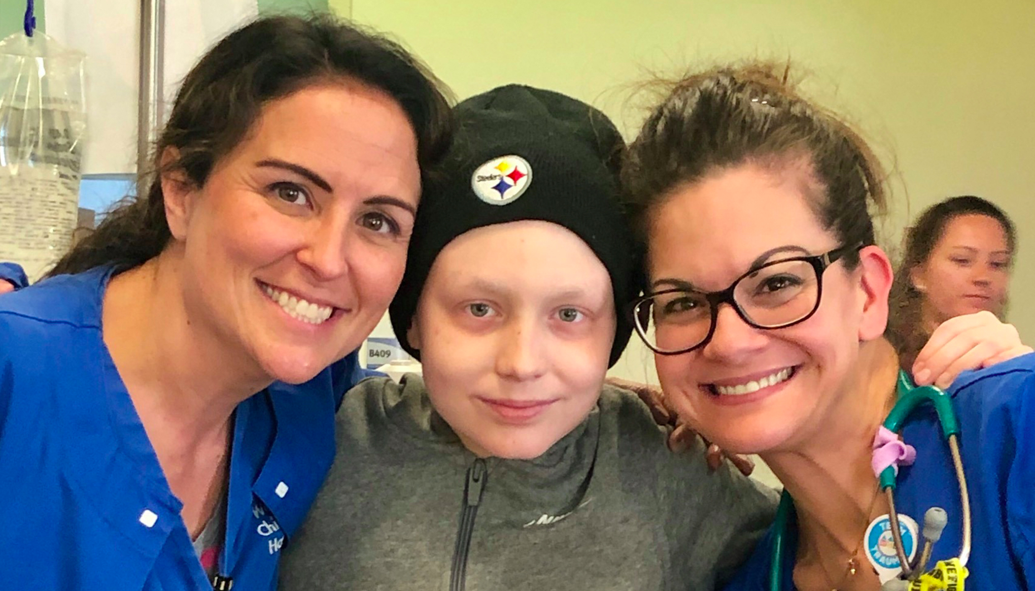 Video: Hospital Staff's Surprise Serenade Brings Pre-Teen Cancer Survivor to Tears on Last Day of Chemo
