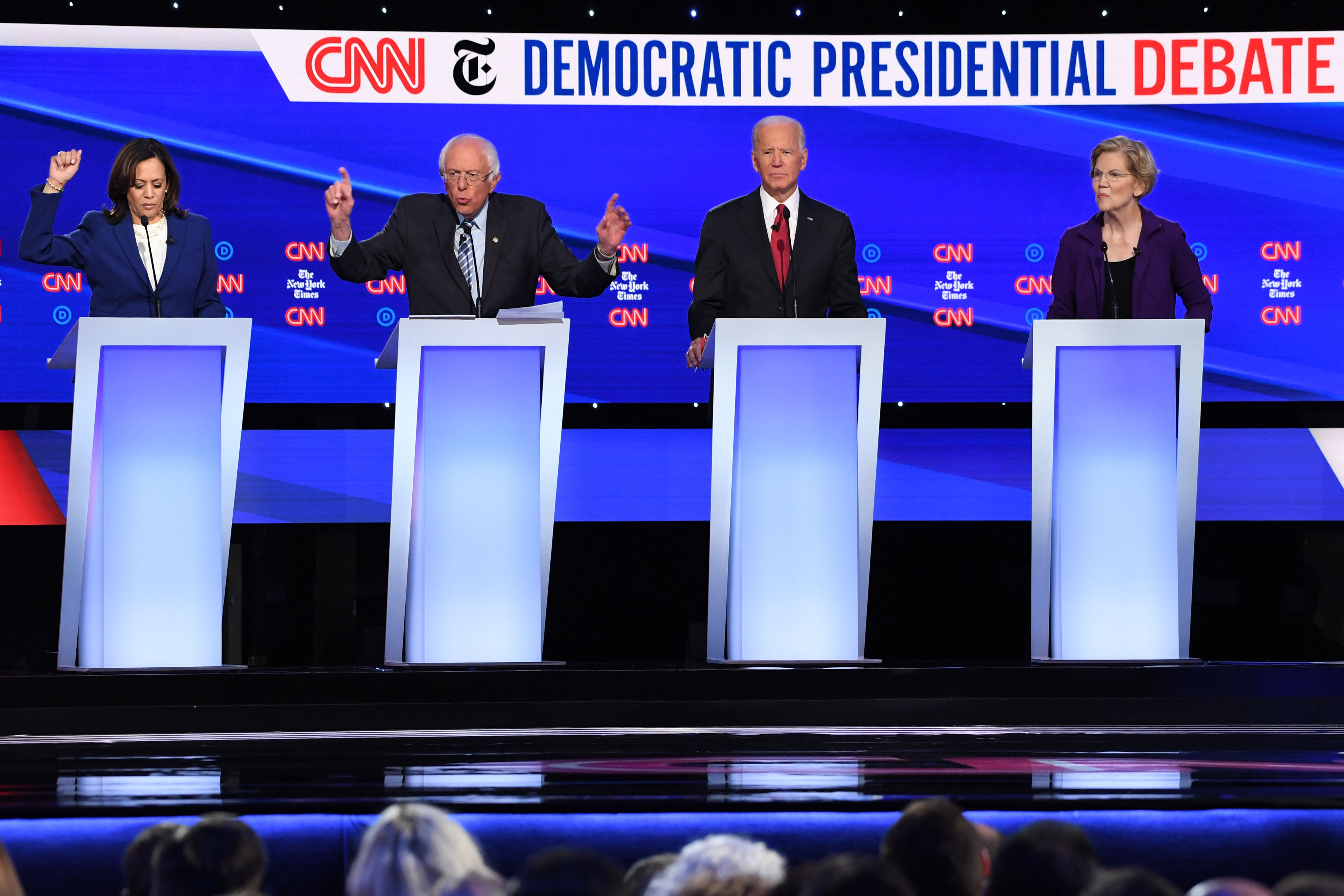 Poll: Iowa Voters Split on Democratic Presidential Candidates