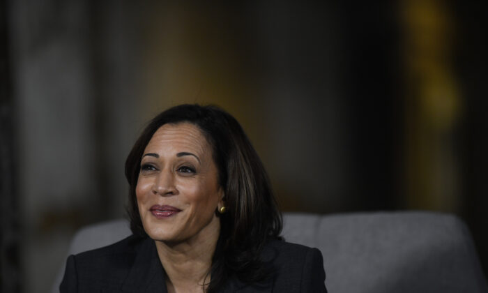 Democratic presidential candidate, U.S. Sen. Kamala Harris (D-CA) speaks during a town hall at the Eastern State Penitentiary on October 28, 2019 in Philadelphia, Pennsylvania. Mark Makela/Getty Images