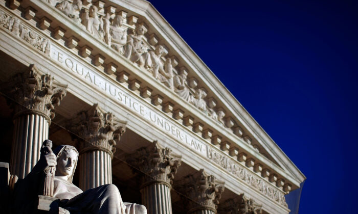 The U.S. Supreme Court in Washington on Feb. 5, 2009. (Win McNamee/Getty Images)