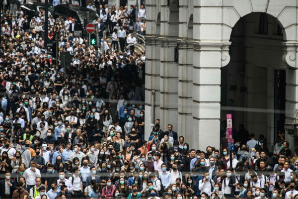 HONG KONG-CHINA-POLITICS-UNREST