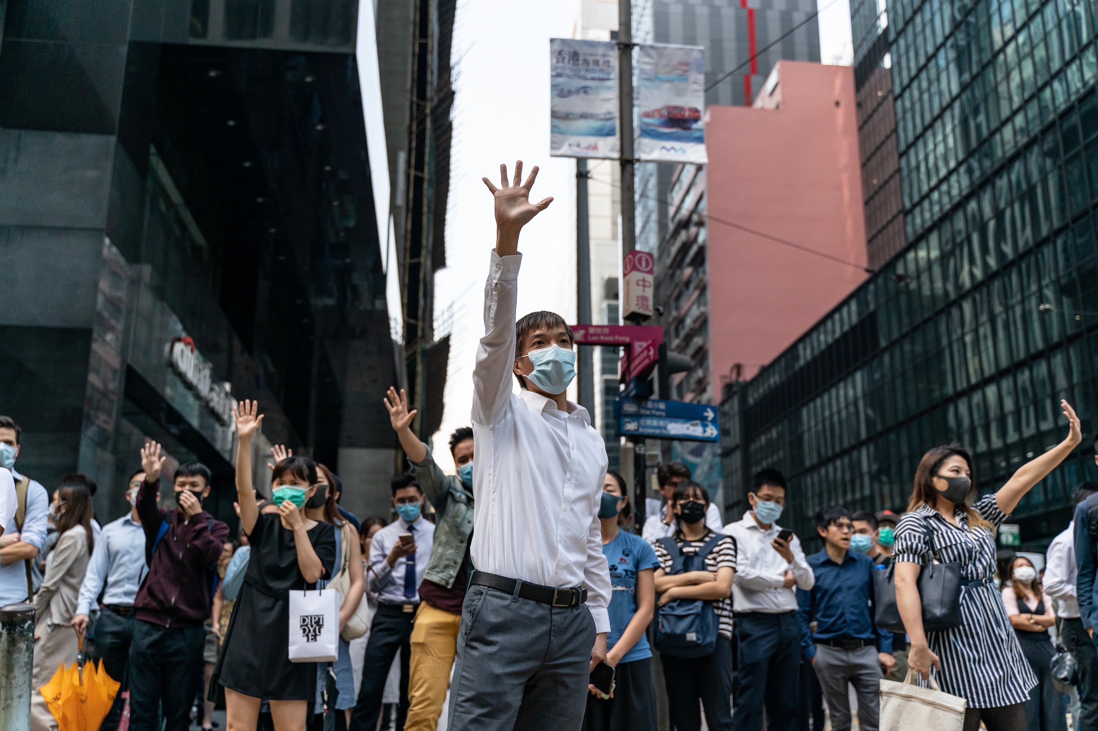 In First Public Mention of Hong Kong Crisis, Chinese Leader Xi Uses Harsh Rhetoric to Criticize Protesters