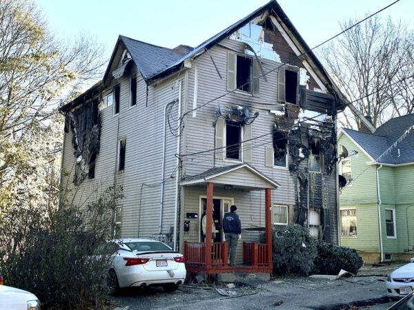 House fire Massachusetts