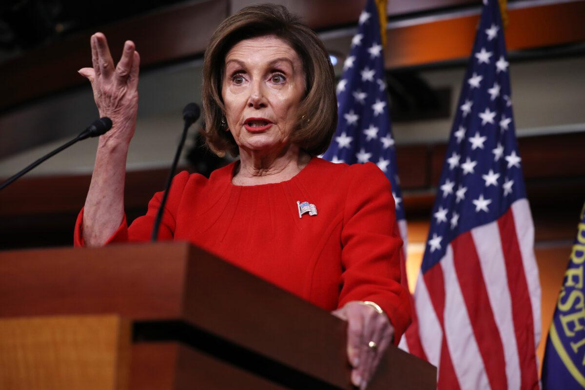Pelosi Says She Has 'No Idea' When Impeachment Inquiry Will End