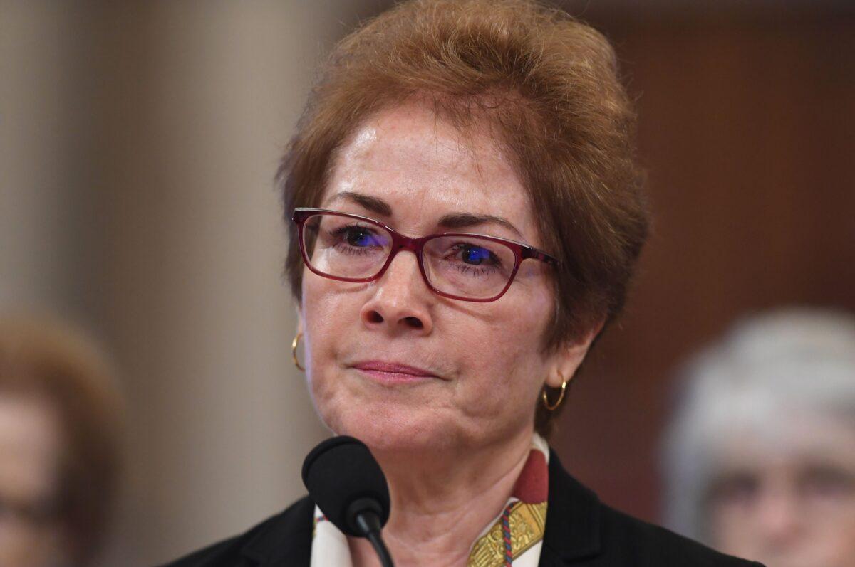 Former U.S. Ambassador to the Ukraine Marie Yovanovitch