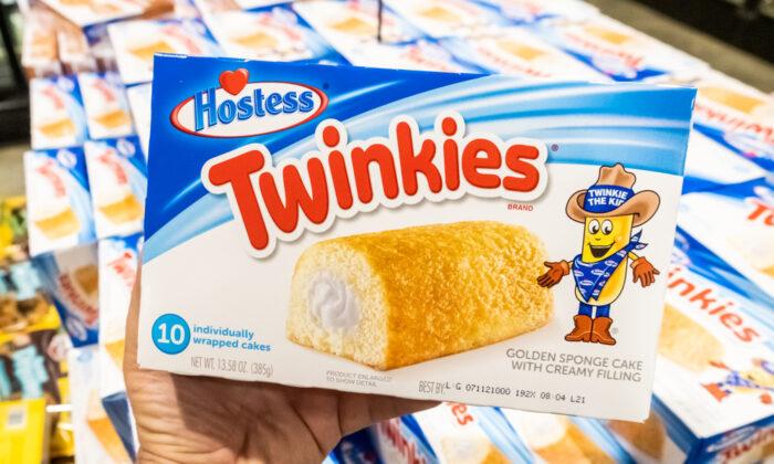 A box of Hostess Twinkies. (Shutterstock)