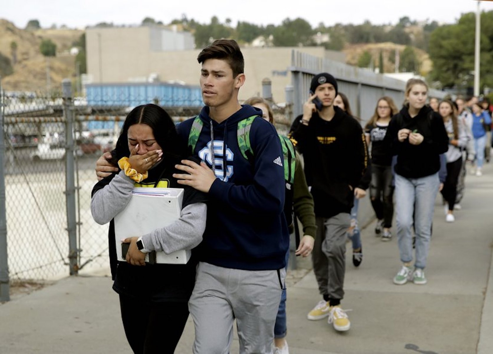 shooting california high school