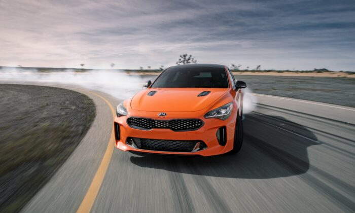 2019 Kia Stinger. (Courtesy of Kia)