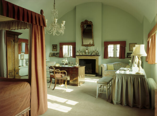 Clementine Churchill's bedroom