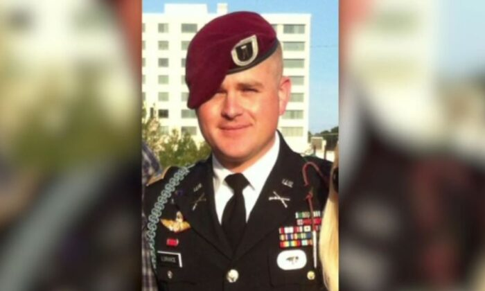 Army First Lieutenant Clint Lorance in a file photograph. (CNN)