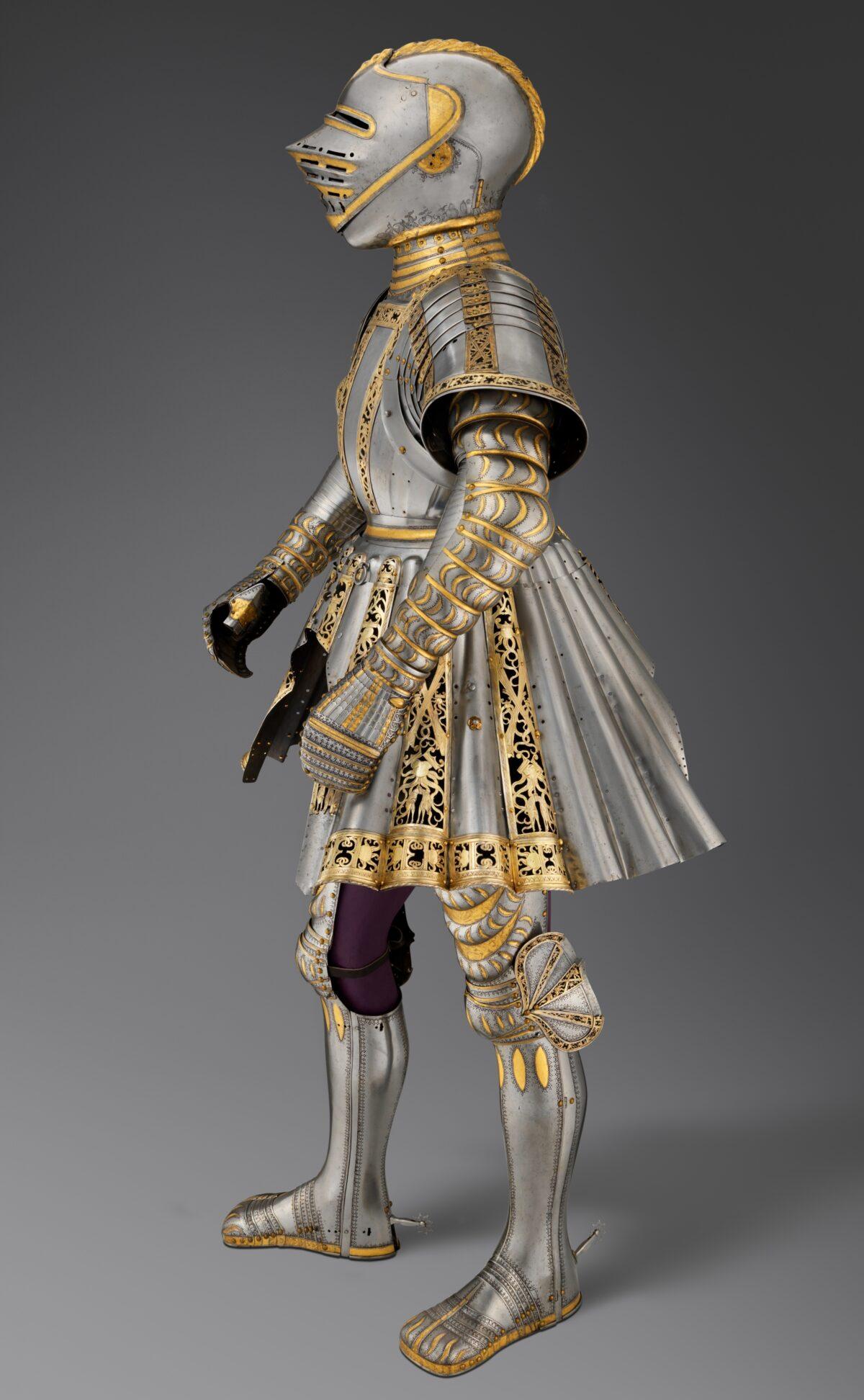 ceremonial armor Charles V
