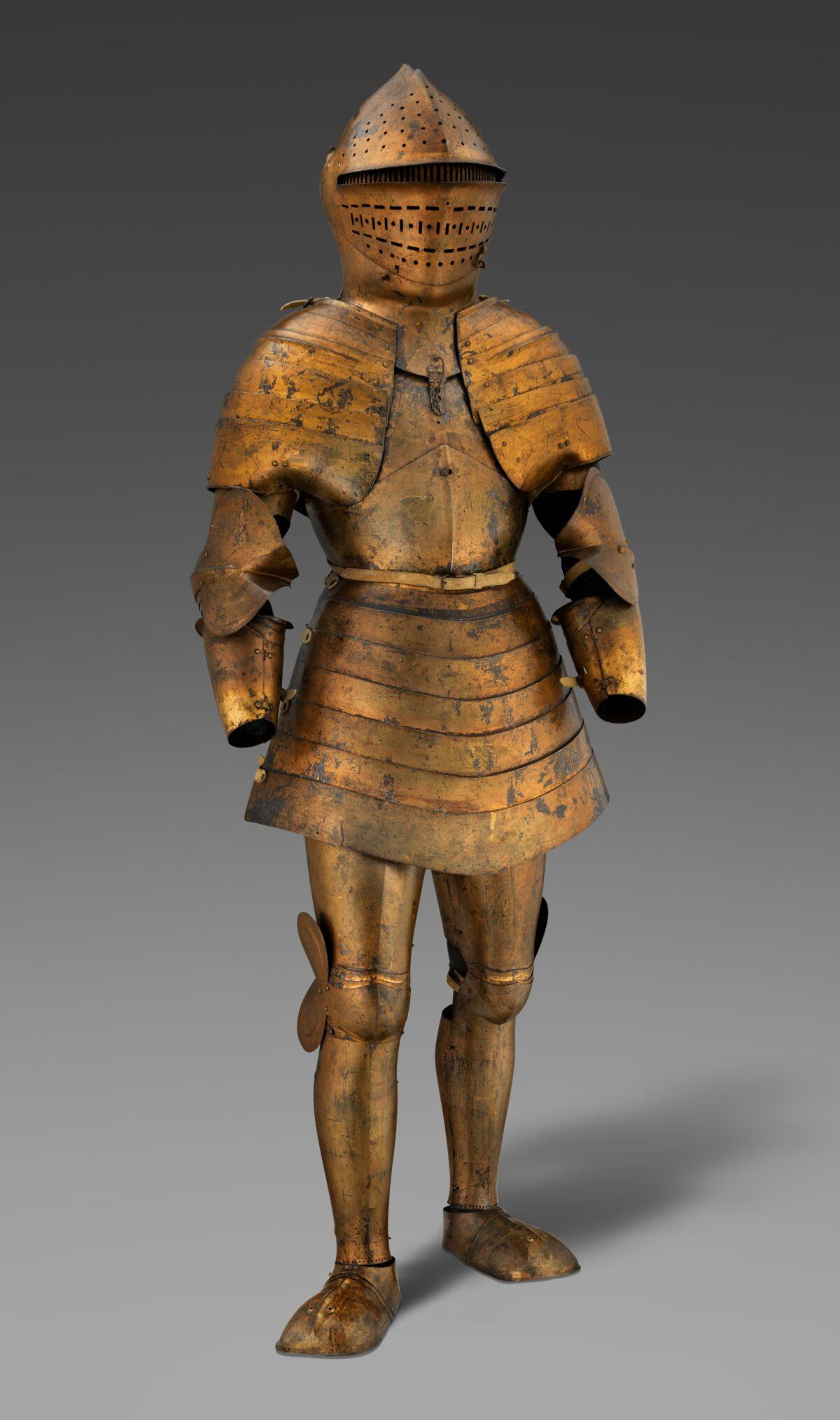 foot armor of Maximilian I