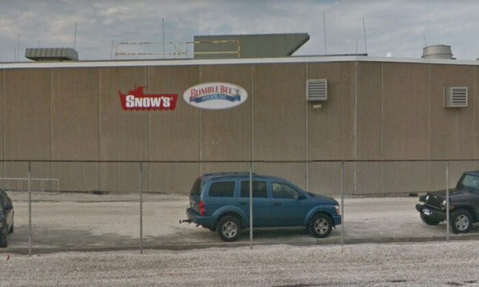 A Bumble Bee Foods plant located in New Jersey in a file photo. (Google Street View)