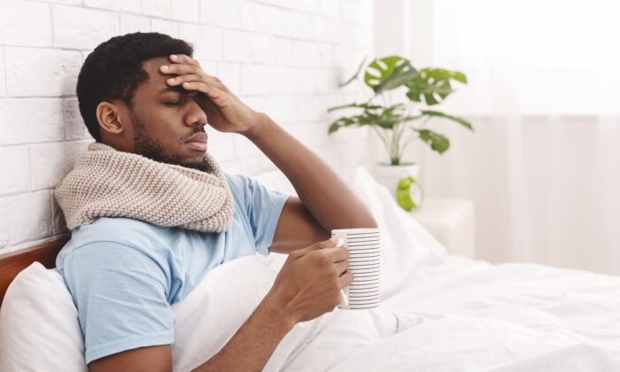 You might feel terrible when you are ill, but that emotion could be just what you need. (Prostock-studio/Shutterstock)