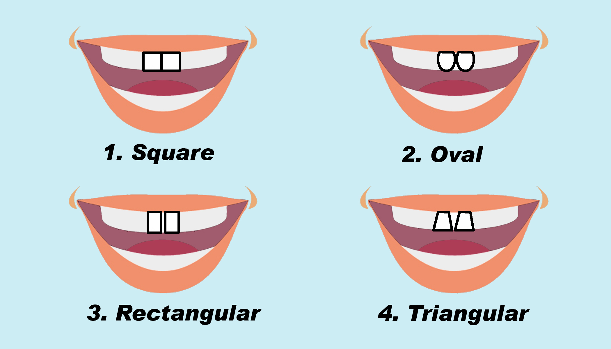 The Shape of Your Two Front Teeth Can Tell About Your Personality–Rectangular Teeth Predict Leadership