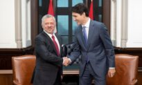 Trudeau, King of Jordan Meet to Talk Refugee, Security Issues
