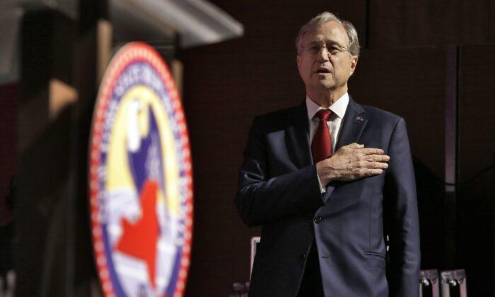 Ed Cox in a 2018 file photograph. (Richard Drew/AP Photo)