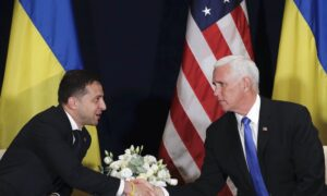 Pence Did Not Discuss Investigations in Warsaw Meeting With Zelensky, 2 Witnesses Confirm