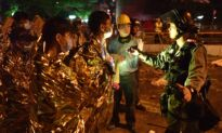 Dozens Remain Trapped on Hong Kong School Campus
