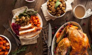 At the Thanksgiving Table, a Celebration of Abundance