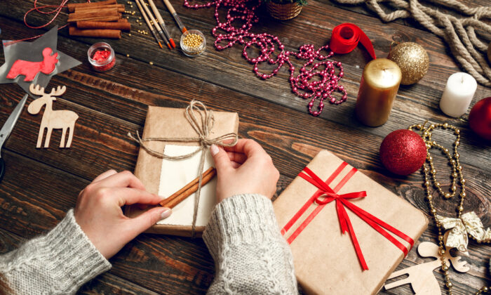 One example of minimizing decisions could be to wrap presents in the same wrapping paper.  (Shutterstock)