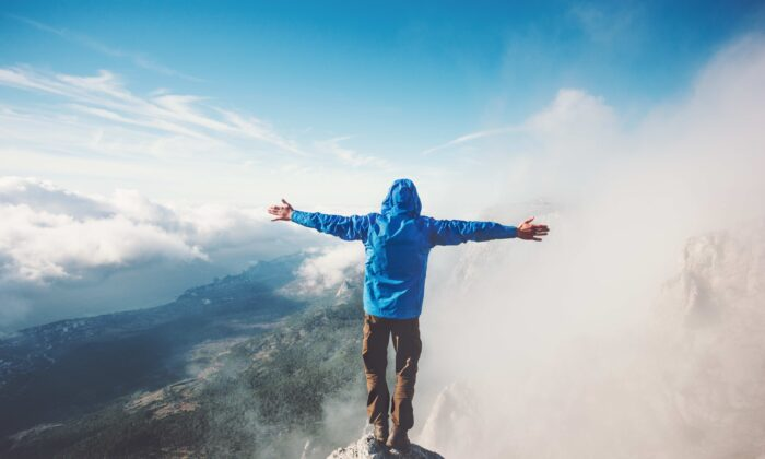 Reaching a peak in life requires an arduous climb. Without facing those things that unsettle us, we don't reach those places that elevate us. (everst/Shutterstock)