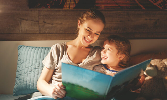 Take the opportunity at bedtime to ask children what they were grateful for today. (Shutterstock)