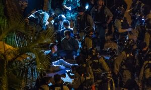 Hong Kong Police Caught on Video Torturing and Humiliating Detained Protesters